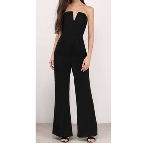 Tobi  black jumpsuit new with tags